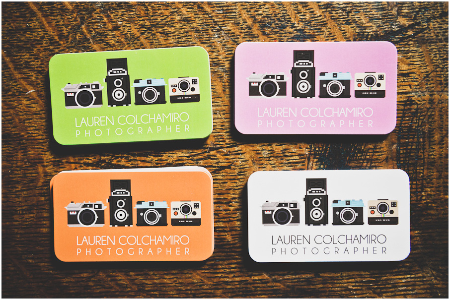 New Business Cards! | NYC Photographer » lauren colchamiro photography