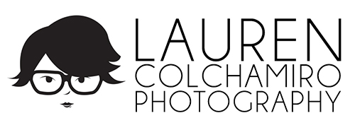 lauren colchamiro photography logo